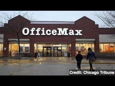 Office Depot, OfficeMax Confirm $1.2 Billion Merger