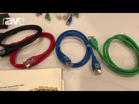 E4 AV Tour: Comprehensive Presents MicroFlex 4K60 HDMI Cables with Ultra-Flexible Head