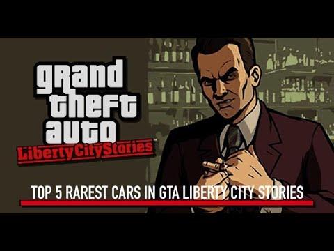 Top 5 Rarest Cars In GTA Liberty City Stories - PSP