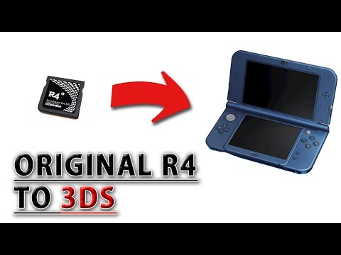 MAKING THE【ORIGINAL R4】WORK ON 3DS [11.4/11.5 CFW]