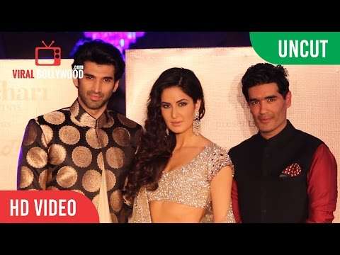 UNCUT - Aditya Roy Kapur | Katrina Kaif | Manish Malhotra | Fashion Show of regal Threads