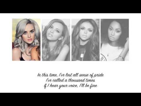 Little Mix - These Four Walls (Lyrics + Parts on Screen)