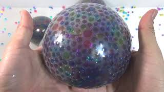 Many Orbeez Balloons Surprise Egg Toys Learn Colors Stressball Play for Kids