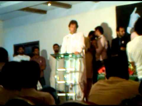 Imran Khan's Lecture to Accountancy Students of Lahore Part 1