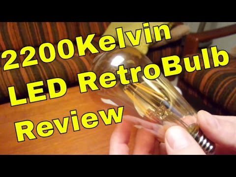 Best LED Bulbs - Retro Edison Bulbs - New E27 LED Bulbs Comparison Review