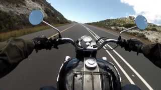 Boxing Day motorbike ride around Cape Town