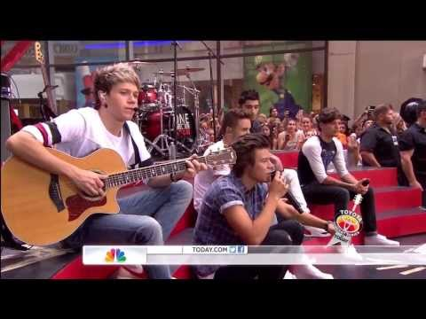 One Direction - Little Things (live On Today Show) Hd video