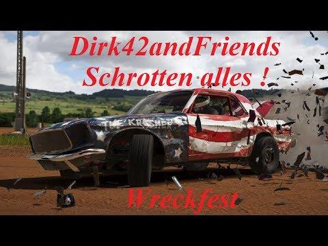 Wreckfest ** Dirk42andFriends ** Wir Schrotten alles #01 **