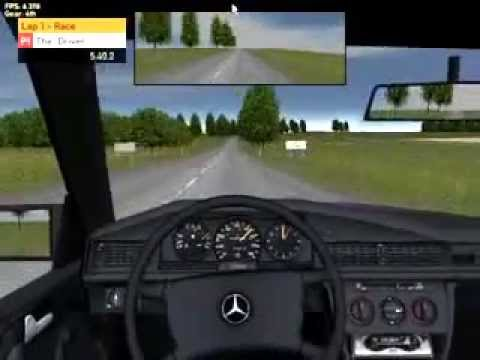 Racer mercedes benz 190 download link youtube for Mercedes benz games