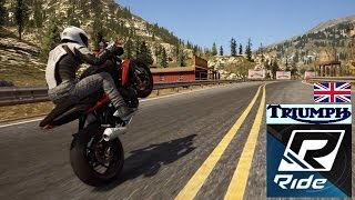 Ride StreetTripleR Full ! + Stunt No Fear !