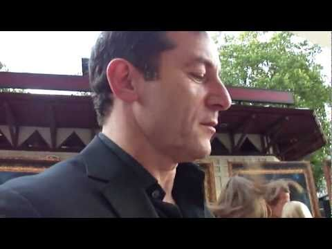 Premiere HP DH part2 Mark Williams, Alfred Enoch, Bonnie Wright, ...