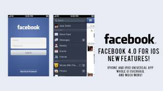 Facebook 4.0 Update for iOS Overview - iPhone / iPad Universal App