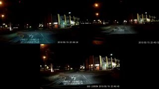 G1W vs G2W vs DOD LS300W Night driving test