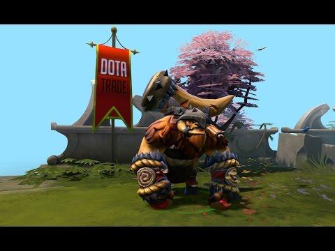 Tine of the Behemoth Earthshaker set custom icons preview Dota 2