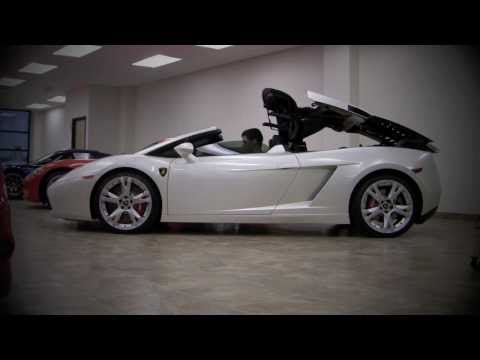 Lamborghini Gallardo Spyder - Start Up, Roof Action, Revs, Full details