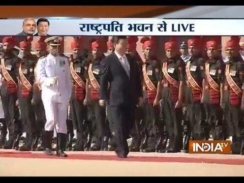 Live: President Xi At Rashtrapati Bhawan On Day 2 Of His India Visit - India TV