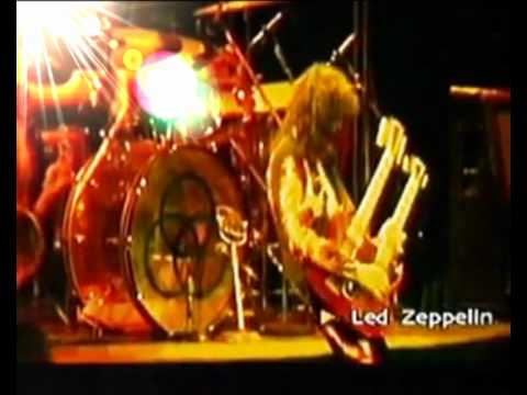 Jimmy Page Assolo Stairwey to Heaven- Black Dog (Live Earls Court 1975)