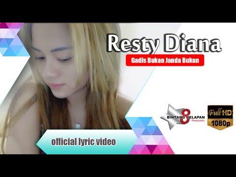 Resty Diana - Gadis Bukan Janda Bukan [ Official Lyric Video ]