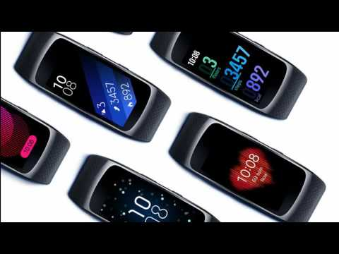 "Samsung Gear Fit2 : Samsung unveils new Fitness Wristband ""Gear Fit 2"" with GPS"