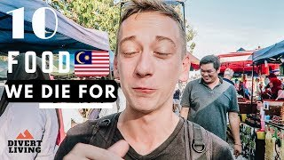 What To Eat In MALAYSIA - Top 10 MOUTHWATERING Food You Must Eat 🇲🇾
