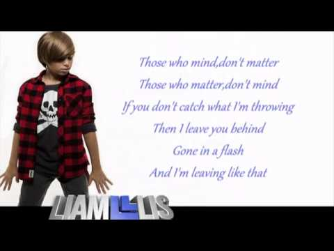 Jessie J - Masterpiece - Liam Lis cover with lyrics on screen