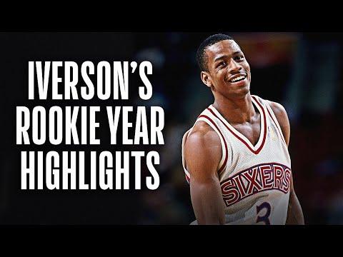 Allen Iverson Rookie Year