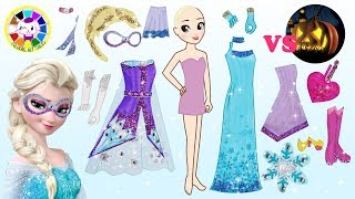 Disney Princess Elsa Frozen 2 make up and Dress up like Hero and Partywear - cartoons