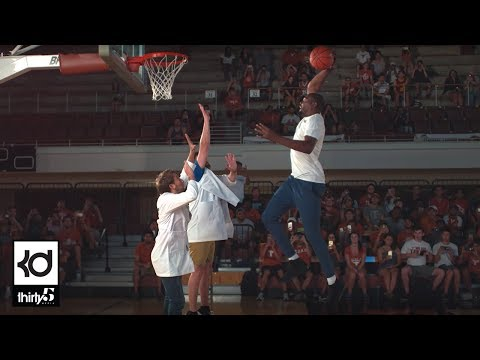 Cover Lagu Kevin Durant Dunks in Slow Motion w/ The Slow Mo Guys