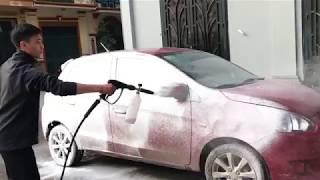 Công nghệ rửa xe không chạm 2018 - Ekokemika Vietnam