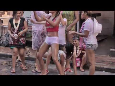 THAILAND WATER FESTIVAL IN PATTAYA ( songkran 2013 )