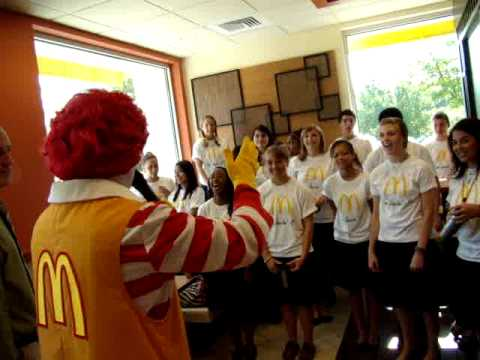 Poor Way Farin' Stranger Evangel Christian School Dale City Virginia McDonalds Grand Opening