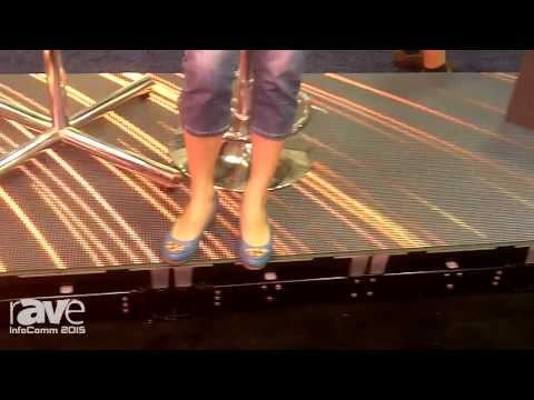 InfoComm 2015: Infiled Demonstrates Interactive Dance Floor