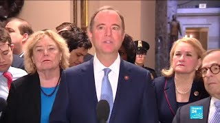 """This is the process for a rigged trial,"" said Schiff"