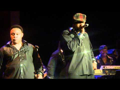 Earth Wind&Fire feat. Al McKay - Let's Groove - live in Zurich at Kaufleuten 1.12.10