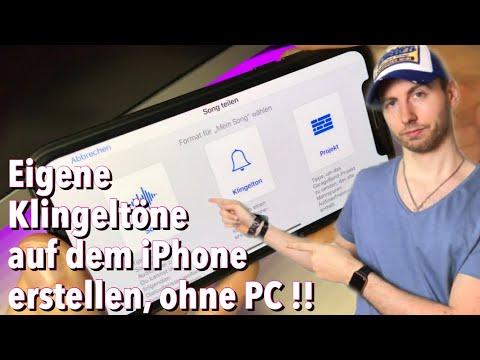 Klingeltöne auf dem iPhone erstellen OHNE Computer & OHNE Jailbreak   Einfache Anleitung neues out