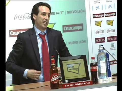 Rueda de prensa Unai Emery Sevilla FC