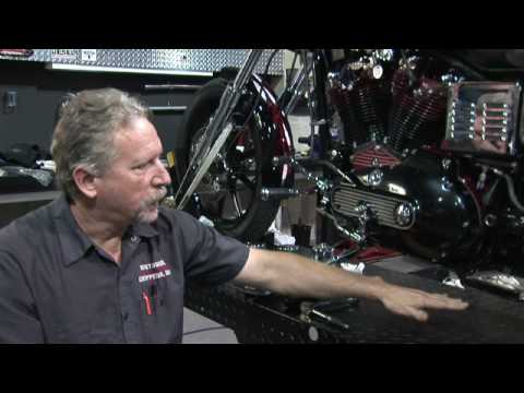 Harley Davidson Motorcycles : How to Do an Oil Change on a Harley Davidson Sportster Video