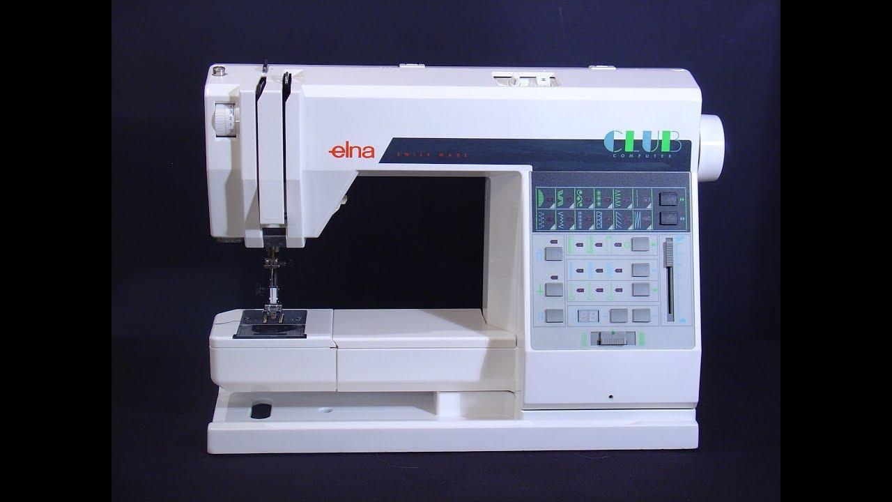 elna 7000 computer sewing machine