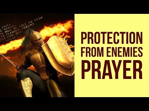 PROTECTION FROM ENEMIES POWERFUL PRAYER