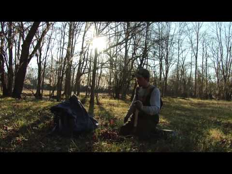 Trapping TV Episode 2, coyote dirt hole trench set, trapping bobcats, beaver and otter