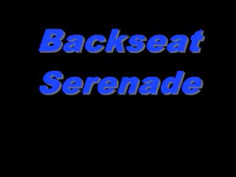 Backseat Serenade Cover