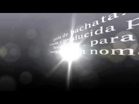 Pista De Bachata Por David Maza (linaje).wmv video