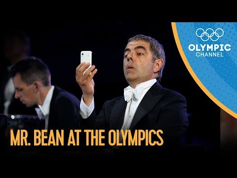 Mr. Bean / Rowan Atkinson London 2012 Performance Music Videos