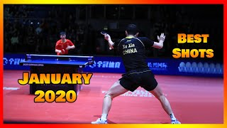 Best Table Tennis Shots January 2020 [HD]