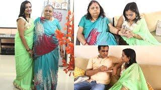 Hariyali Teej with Saas - Mehendi, Bangles Shopping aur Bahut Kuch   Indian Mom On Duty