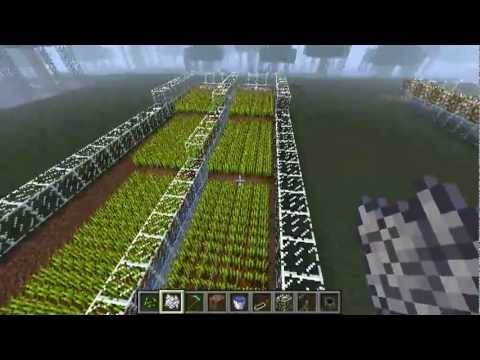 How To Make A Semi Automated Wheat Farm In Minecraft YouTube