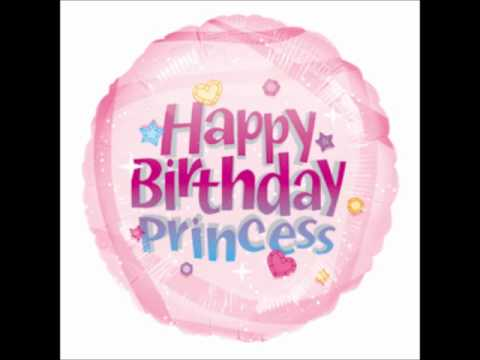 Happy Birthday Little Princess Cake