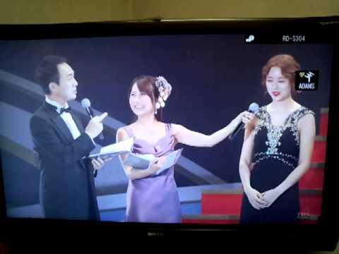 131019 韓国ドラマ大賞 女優賞 上位5位~かわいいユン・ウネちゃん