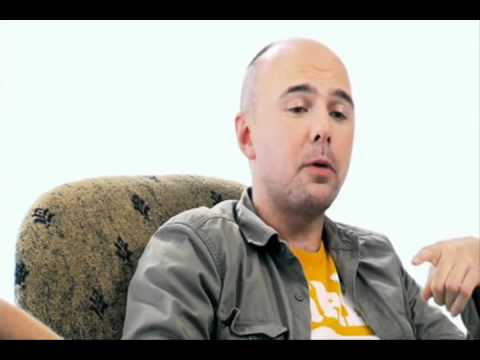 karl pilkington on parties, chicken, knobs