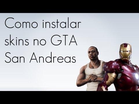 Como instalar skins no GTA San Andreas
